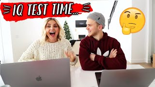 WE TOOK AN IQ TEST... *shocking results* by Aspyn + Parker