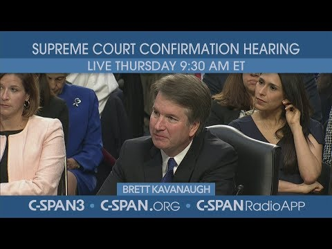 LIVE: Confirmation hearing for Supreme Court nominee Judge Brett Kavanaugh (Day 3)