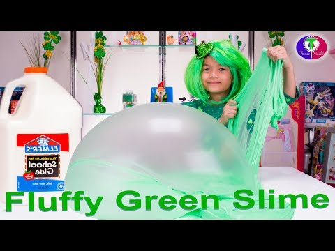 How to make fluffly slime to sith raksmey and ty ty diy fan requested diy fluffy green slime giant fluffy slime englishkhmer speaking easy ccuart Gallery