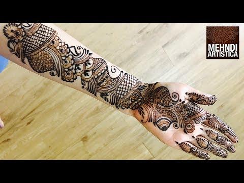 Full Hand Mehndi Designs Best Mehendi Video 2017