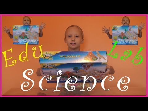Edu Science Lab - EARTH SCIENCE LAB Educational Experiement Kit!
