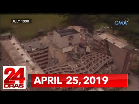 24 Oras: April 25, 2019 [hd]