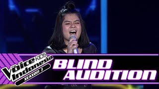 Video Teresa - Lips Are Movin | Blind Auditions | The Voice Kids Indonesia Season 3 GTV 2018 MP3, 3GP, MP4, WEBM, AVI, FLV Juli 2018