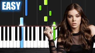 Hailee Steinfeld, Grey - Starving ft. Zedd - EASY Piano Tutorial by PlutaX
