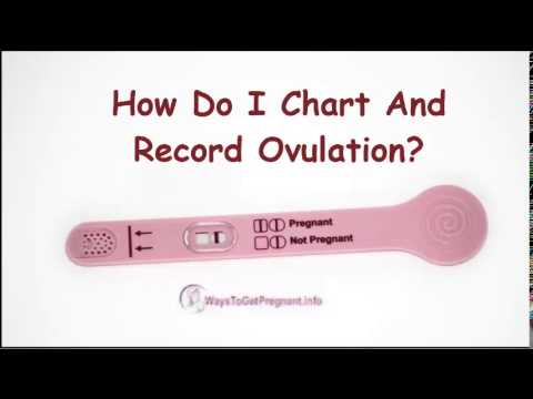 How do i chart and record ovulation?