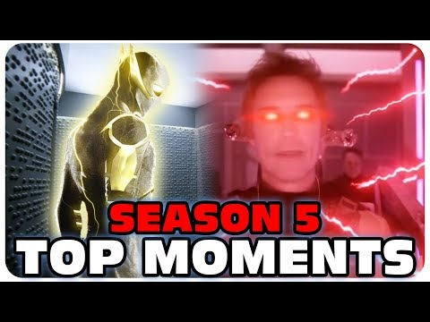 The Flash Season 5 Best Moments   The Flash Best fight scenes and Top speed   Top 10   Part 2