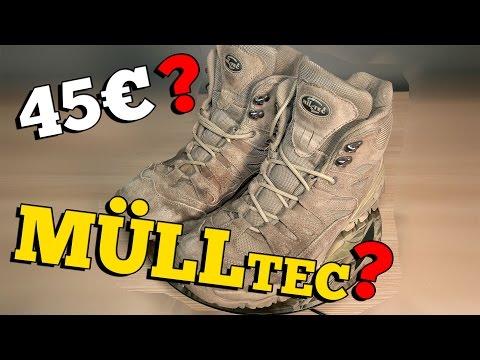 45€ STIEFEL MÜLLTEC? Airsoft Outdoor Stiefel Test