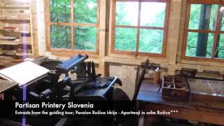 Idrija Slovenia  city pictures gallery : Partisan Printery Slovenia in Idrija