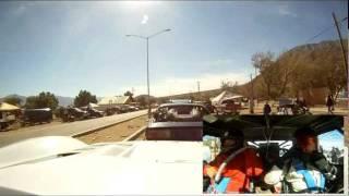 ARRANQUE DE LA CARRERA DE BAHIA DE LOS ANGELES FEBRERO 2012.