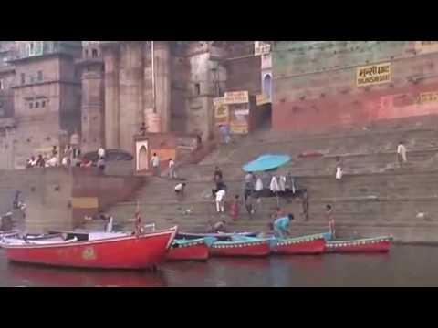 Holy-sensation-on-the-bank-of-river-Varanasi-Ganges