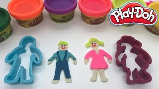 Play Doh Boy And Girl Toys Video For Kids