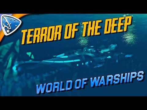 World of Warships: Terror of the Deep   Submarine game-play
