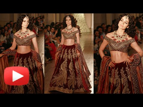 Kangana Ranaut Turns Royal Princess | Rampwalk | I