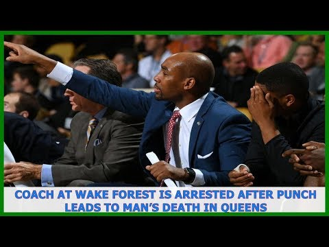 US News | Coach at Wake Forest Is Arrested After Punch Leads to Man's Death in Queens