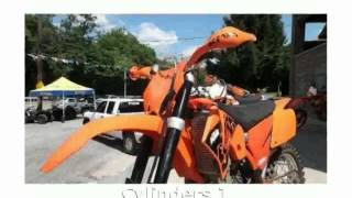 3. 2005 KTM EXC 400 Racing Features, Specs