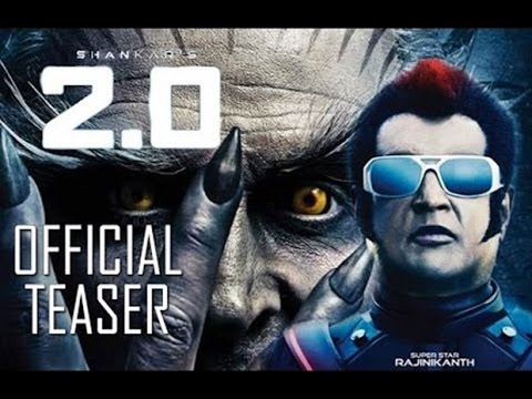 Robot 2 Trailer   Rajnikanth Akshay Kumar   Movie Trailers 2017  