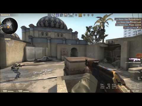 CS:GO - Как УБИТЬ ГРАНАТОЙ?! Эйс гранатой