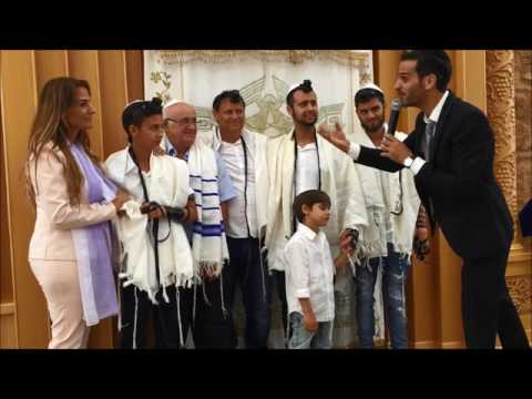 ברכת הכהנים בר מצווה עם ההורים