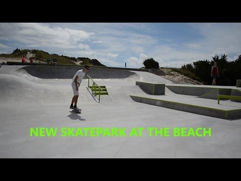 IT'S FINALLY OPEN! (New Skatepark!!)