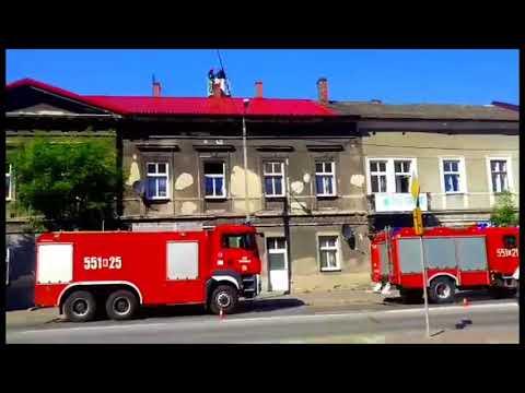 Pożar w kamienicy przy Lwowskiej