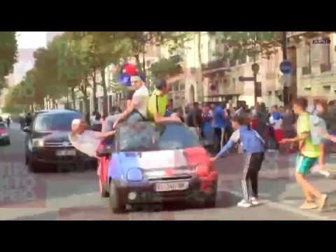 Η Γαλλία παγκόσμια πρωταθλήτρια-ξέφρενοι πανηγυρισμοί στο Παρίσι