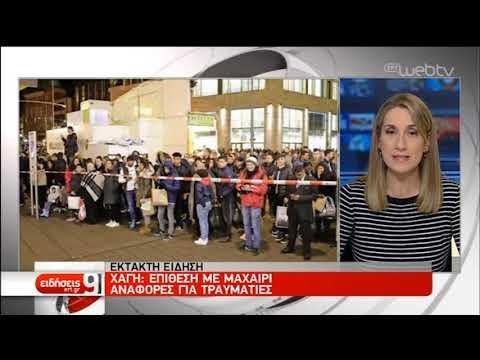 Επίθεση με μαχαίρι στο κέντρο της Χάγης | 29/11/2019 | ΕΡΤ