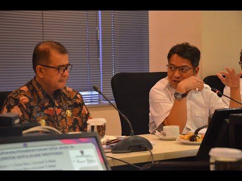 Pemaparan dari Wakil Gubernur Sumbar Terakait Percepatan Pembangunan Kabupaten Kepulauan Mentawai