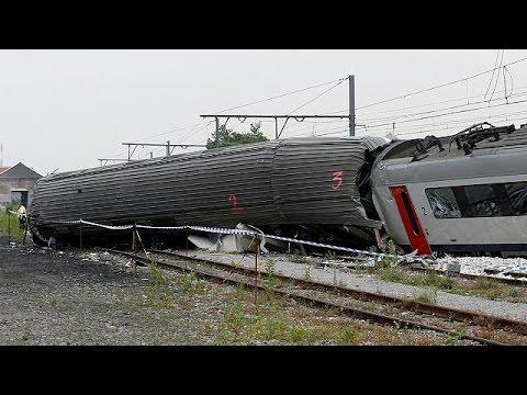 Βέλγιο: Συγκλονιστικές μαρτυρίες για το σιδηροδρομικό δυστύχημα