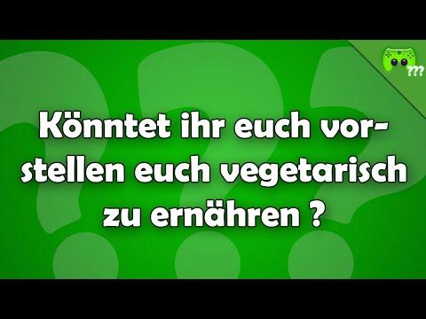 Würdet ihr euch auch vegetarisch ernähren ? - Frag PietSmiet ?!