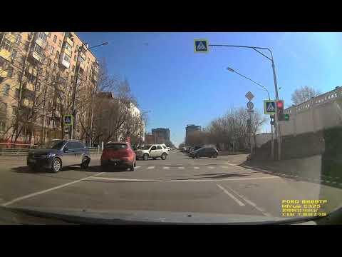 ДТП в Москве на улице Зорге