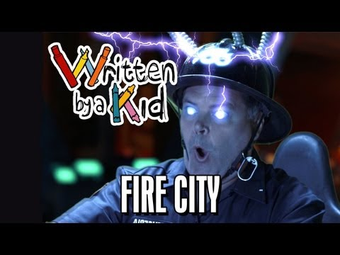 Napsáno dítětem #9: Město hasičů