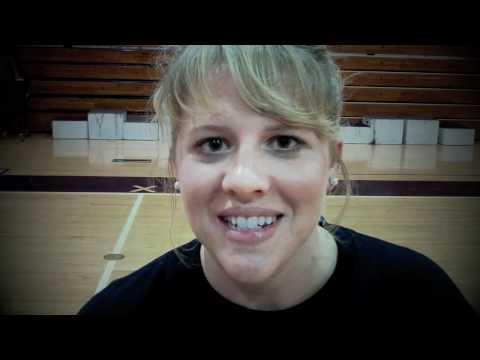 Butler VolleyBall Practice