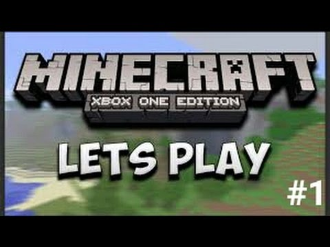 Minecraft Xbox One Survival Lets Play With Friends S1 Ep 1 Mountan Home (видео)