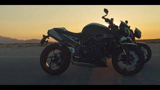 Triumph Street Triple e Speed Triple 2018 - Video Dalla Rete
