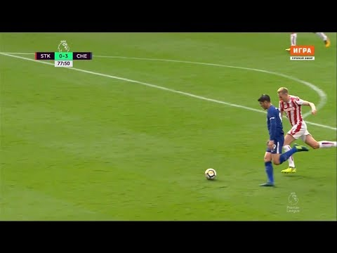 Alvaro Morata vs Stoke City (Away) 23/09/17 HD