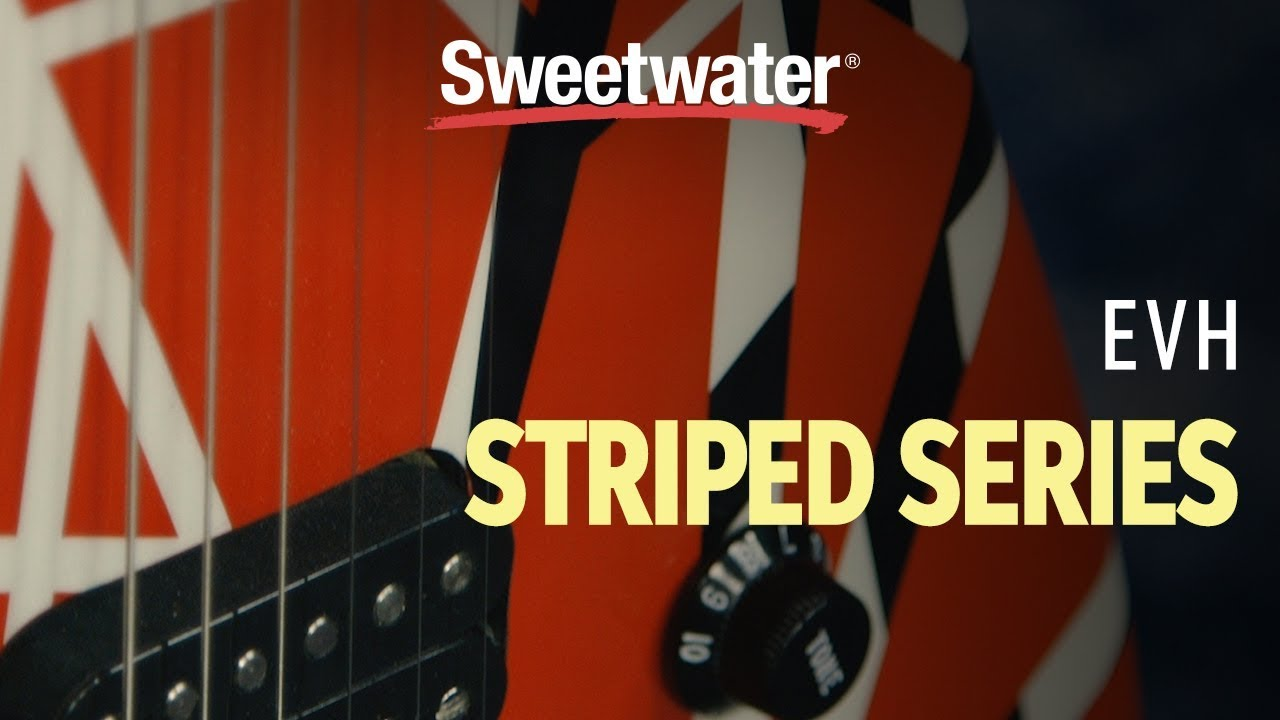 EVH Striped Series 5150 Electric Guitar Review