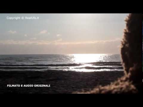 ufo ripreso sulle spiagge di ostia