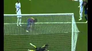 Real Madrid Vs Barcelona 1-1 Carlos Puyol Fantastic Header Goal