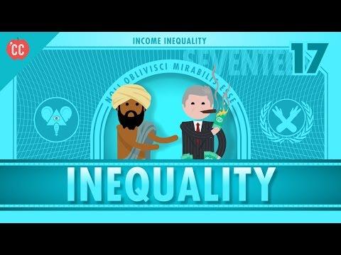 Income and Wealth Inequality: Crash Course Economics