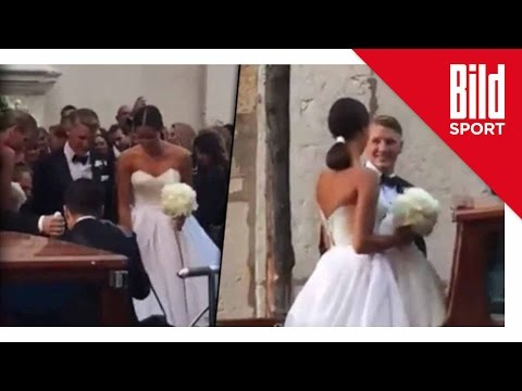 Bastian Schweinsteiger: Hochzeit in Venedig - Schwe ...