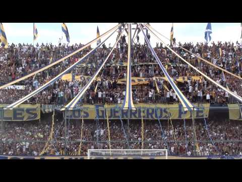 "Video - ""Recibimiento"" - Rosario Central (Los Guerreros) vs Tigre - 2015 - Los Guerreros - Rosario Central - Argentina"