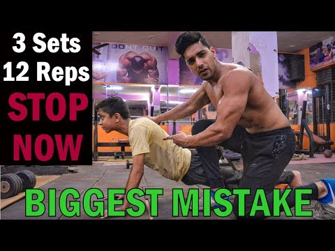 Fat burner - 3 Sets of 12 Reps BIGGEST MISTAKE  STOP NOW