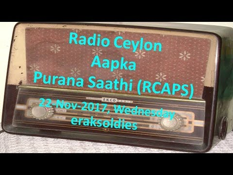 Video Radio Ceylon 22-11-2017~Wednesday Morning~02 Purani Filmon Ka Sangeet download in MP3, 3GP, MP4, WEBM, AVI, FLV January 2017