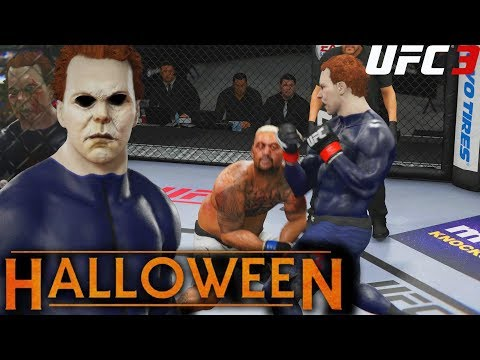 Ea Ufc 3: Michael Myers Throwing Hands For Halloween! Big Uppercuts! Ea Sports Ufc 3 Gameplay