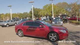 Autoline Preowned 2010 Chevrolet Malibu LT For Sale Used Walk Around Review Test Drive Jacksonville