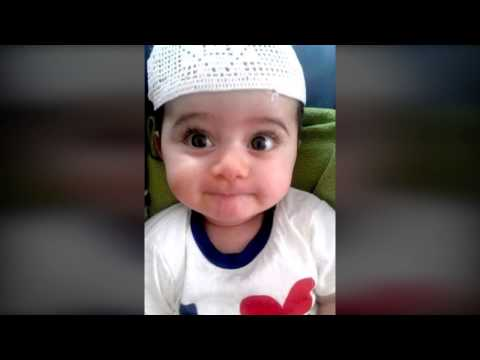 Baby Learn Dua - Funny  أم تعلم ابنها دعاء فيخطئ اخطاء مضحكة