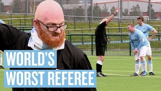 WORLD'S WORST REFEREE PRANK | Manchester City April Fools
