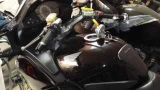 9. 2006 Honda ST1300 Fuel Tank Bubbles