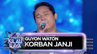 Video DIKELILINGI CAHAYA! GUYON WATON [KORBAN JANJI] - Road To Kilau Raya (27/7) MP3, 3GP, MP4, WEBM, AVI, FLV September 2019