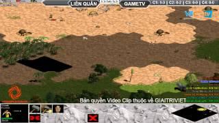 Hà Nội + Gunny vs GameTV Ngày 05/09/2015 C2T3, game đế chế, clip aoe, chim sẻ đi nắng, aoe 2015